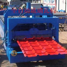 浙江杭州仁德全自动双层琉璃瓦机 自动双层800-840型彩钢瓦设备 冷弯成型机火爆热销中