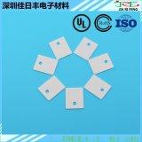 氧化鋁高導熱陶瓷片20*25*0.6mm無孔陶瓷片三極體絕緣墊片