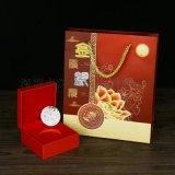 深圳纯银999月饼高档节日礼品答谢贵人赠品