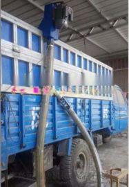 装车用小麦软管上料机 粉体用内带弹簧式吸料机