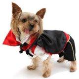 外贸狗衣服 cosplay万圣节Vampire吸血鬼变身装 斗篷装宠物衣服