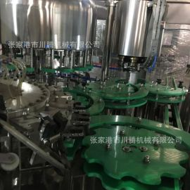 三合一灌装机 小剂量液体灌装旋盖机 玻璃瓶灌装机