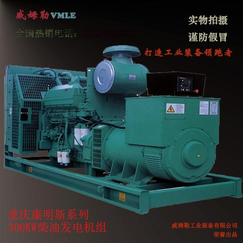 300KW柴油發電機組 全銅大功率發電機 重慶康明斯發電機組