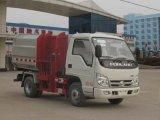小型垃圾车|程力威牌3方挂桶(自装卸式)垃圾车