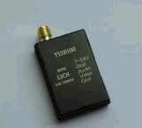 FPV 40通道 5.8G 500mw 迷你微波图传发射机 TS58500 内针内孔