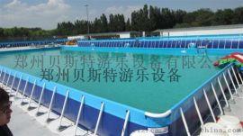 大型支架游泳池厂家现货优惠多多移动游泳池