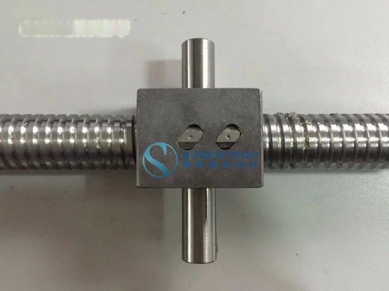 專業定製 異形螺母研磨級微型滾珠絲桿副 品牌SKL