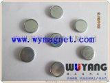 供应D10*2mm圆形单面磁,礼品盒专用磁铁,含铁壳配铁片