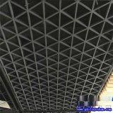 三角形格栅铝天花 铝方管格栅吊顶 山西铝格栅供应商