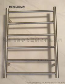 6杆圆管不锈钢电热毛巾架 电热浴巾架