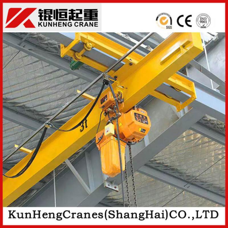 LX型5T低净空悬挂起重机电动悬挂单梁行车天车
