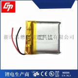 现货供应3.7v 502627 350mah 音箱专用便携测试仪聚合物锂电池