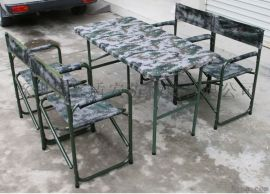 [鑫盾安防]便携折叠野战折叠桌椅 户外单兵会议桌厂家