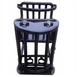 标准方形审讯椅,标准方管审讯椅,方管式铁质审讯椅,