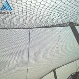 動物園柔性防護網 鳥園防護網 鋼絲繩編織網