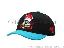 可爱卡通绣花男孩棒球帽