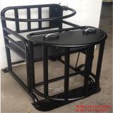 鐵質審訊椅,鐵質方形審訊椅,訊問室鐵質審問椅