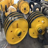 軋製滑輪組 鑄鋼滑輪組 優質定向滑輪組加厚鋼板