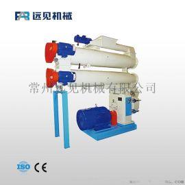 供应畜禽水产结合型制粒机 双层蒸汽调制饲料加工设备