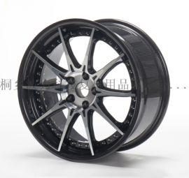 汽车配件 碳纤维轮毂 轻量化碳纤维两片式轮毂