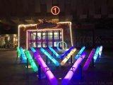 灯光节设计厂家出售安装荧光跷跷板