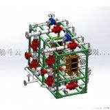 板式换热器研发外观设计  生产制造环保设备仿制