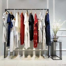 森?塔斯毛衣女装品牌尾货批发卖30折扣女装 品牌库存女装批发