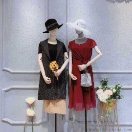 女装货源批发网衣派套装尾货女装批发女式羊绒衫女装雪纺连衣裙
