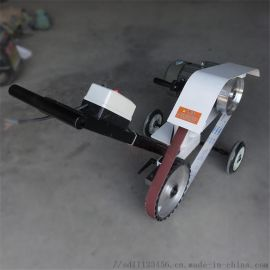 手推式平面抛光机 砂带抛光打磨机