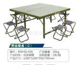 廠家戶外軍綠色摺疊桌野餐桌戰戰備桌訓練戰備桌子餐桌