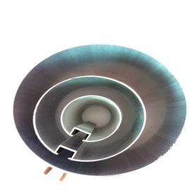 鋁圓管吊頂木紋熱轉印廠家直銷加工專業生產木紋鋁圓管