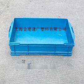 厂家直销 加厚塑料周转箱 680*450*178  塑料物流箱 塑料仓储箱