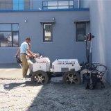 小型水泥摊铺机 一次成型混凝土摊铺机 小型平地机