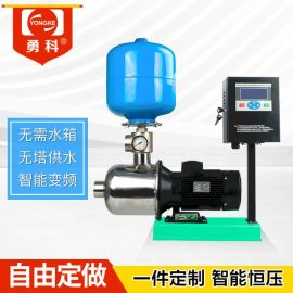 无塔供水 无负压供水设备 304不锈钢无塔供水器