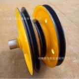 起重配件铸铁滑轮组 20T耐磨优质定滑轮组