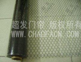 防静电PVC透明网格窗帘