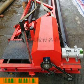 长度可选混凝土摊铺机 8米桥面三滚轴摊铺机