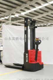 安徽步行式电动堆高车 合肥工厂车间堆垛货物搬运车