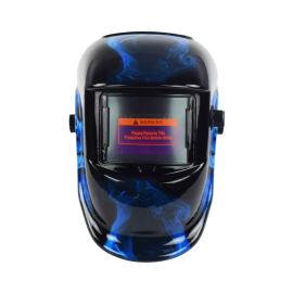 变光恢复时间快的电焊面罩头戴式全脸防护面罩