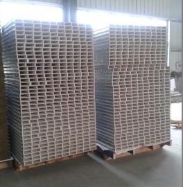 江苏欧泰高强度50mm金属面机制中空玻镁彩钢夹芯板