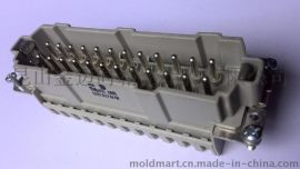 WIELAND连接器/70.510.2453/弹片式24P公芯/现货供应
