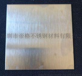 深圳201不锈钢拉丝板