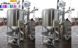 立式塑料颗粒混料机,五吨加热烘干立式搅拌机