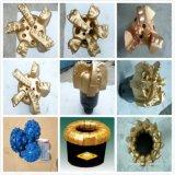 供應三牙輪鑽頭PDC金剛石複合片耐磨不取芯油田地質地熱合金鑽頭