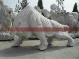 动物雕刻厂家 石雕公牛 石雕动物价格 花岗岩动物