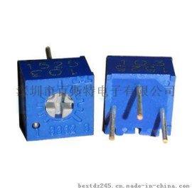 供应3362P电位器单圈精密电位器3362P