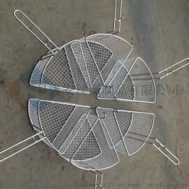 飞安不锈钢清洗筐餐具消毒清洗筐厂家定做直销