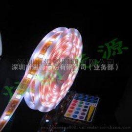 热销LED 5050灯条SMD 30灯KTV 酒吧柔性软灯带 5050七彩/RGB 高亮