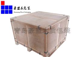青岛木箱厂家 厂家定制免熏蒸出口木质包装