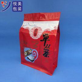 八边封红枣袋透明高强尼龙八边封袋农产品包装